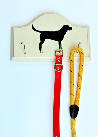 Key/Dog Lead Holders: Labrador