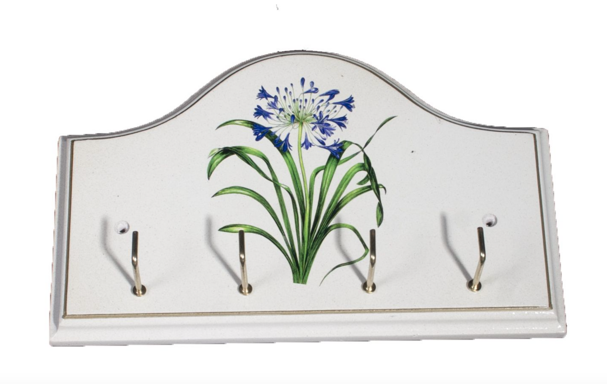 Key/Dog Lead Holder:  Agapanthus