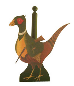Kitchen/Loo Roll Holder:  Pheasant