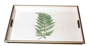 Large Rectangular Tray: Fern