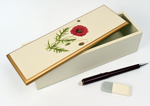 Organiser Box:  Poppy