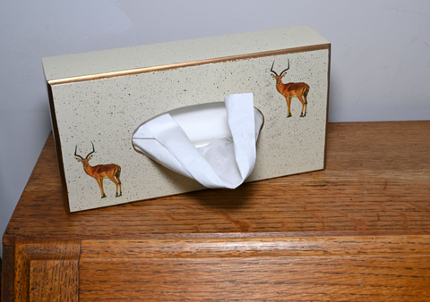 Rectangular Tissue Box Cover: Impala