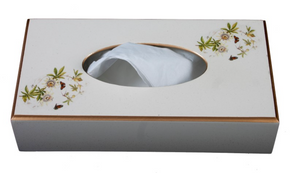Rectangular Tissue Box: Passion Flower