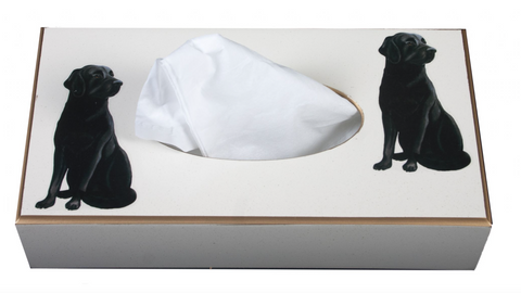 Rectangular Tissue Box cover: Labrador