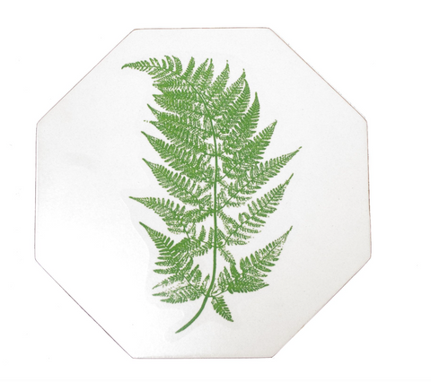 Octagonal Tablemats Set of 4 (boxed): Fern