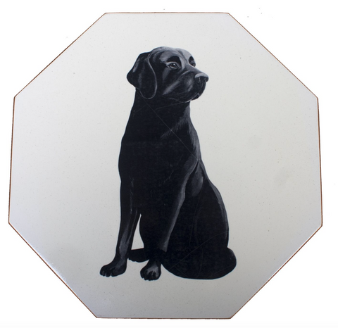 Octagonal Tablemats Set of 4 (boxed): Labrador