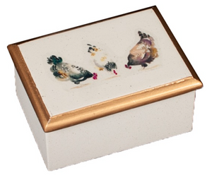 Small Organiser Box: Chickens