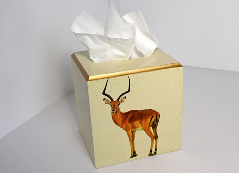 Square Tissue Box Cover: Impala