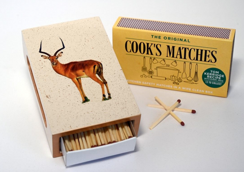 Standard Wooden Matchbox Cover with Matches: Impala