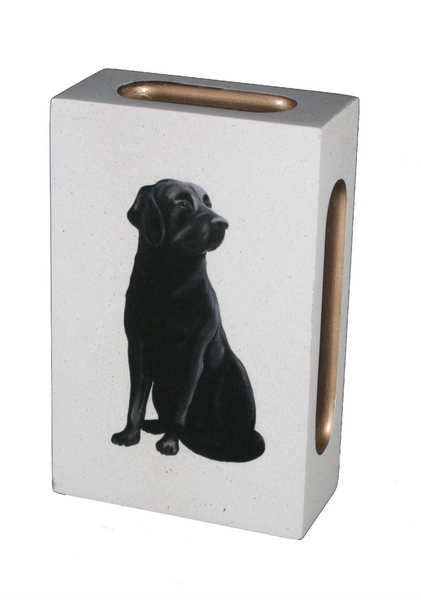 Standard Wooden Matchbox Cover with Matches: Labrador
