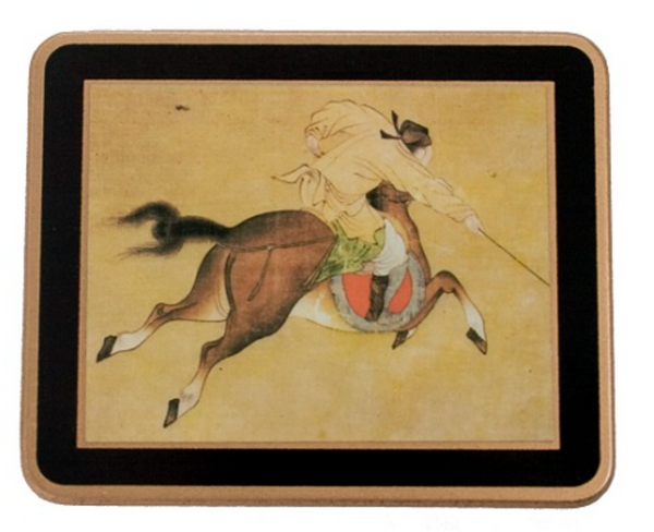 Traditional Coasters: Ming Polo x 6