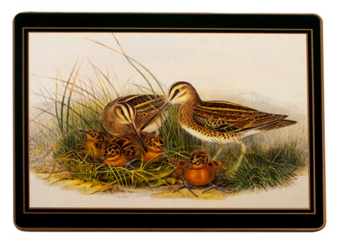 Traditional Placemats: Gamebirds x 4