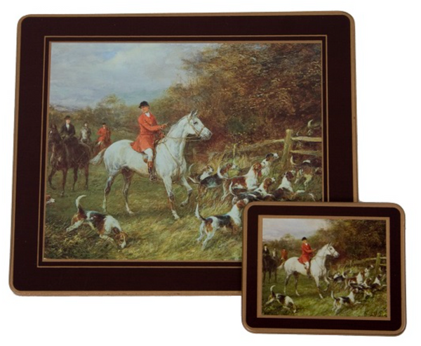 Traditional Placemats: Hunting x 4