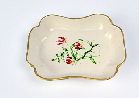 Trinket Dish: Flame Lily