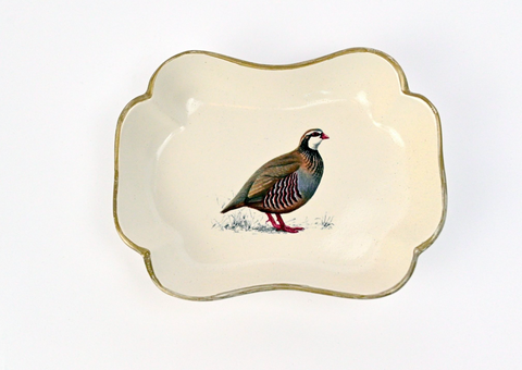 Trinket Dish: Partridge