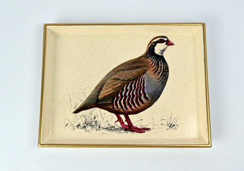 Vanity Tray: Partridge