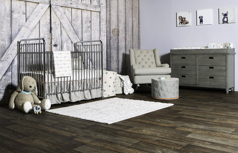 Blake Lively inspired nursery featuring Liz and Roo crib bedding