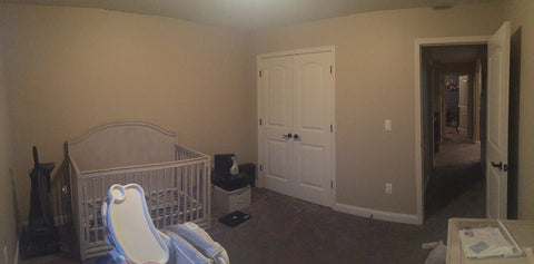 Ready for the new crib in the Dream Nursery