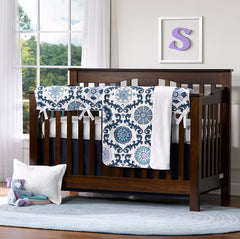 Rosa Berries Gender Neutral Crib Bedding Expresso