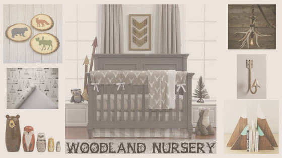 woodland nursery design ideas