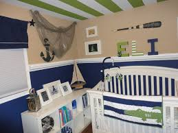 navy paint for baby's nursery
