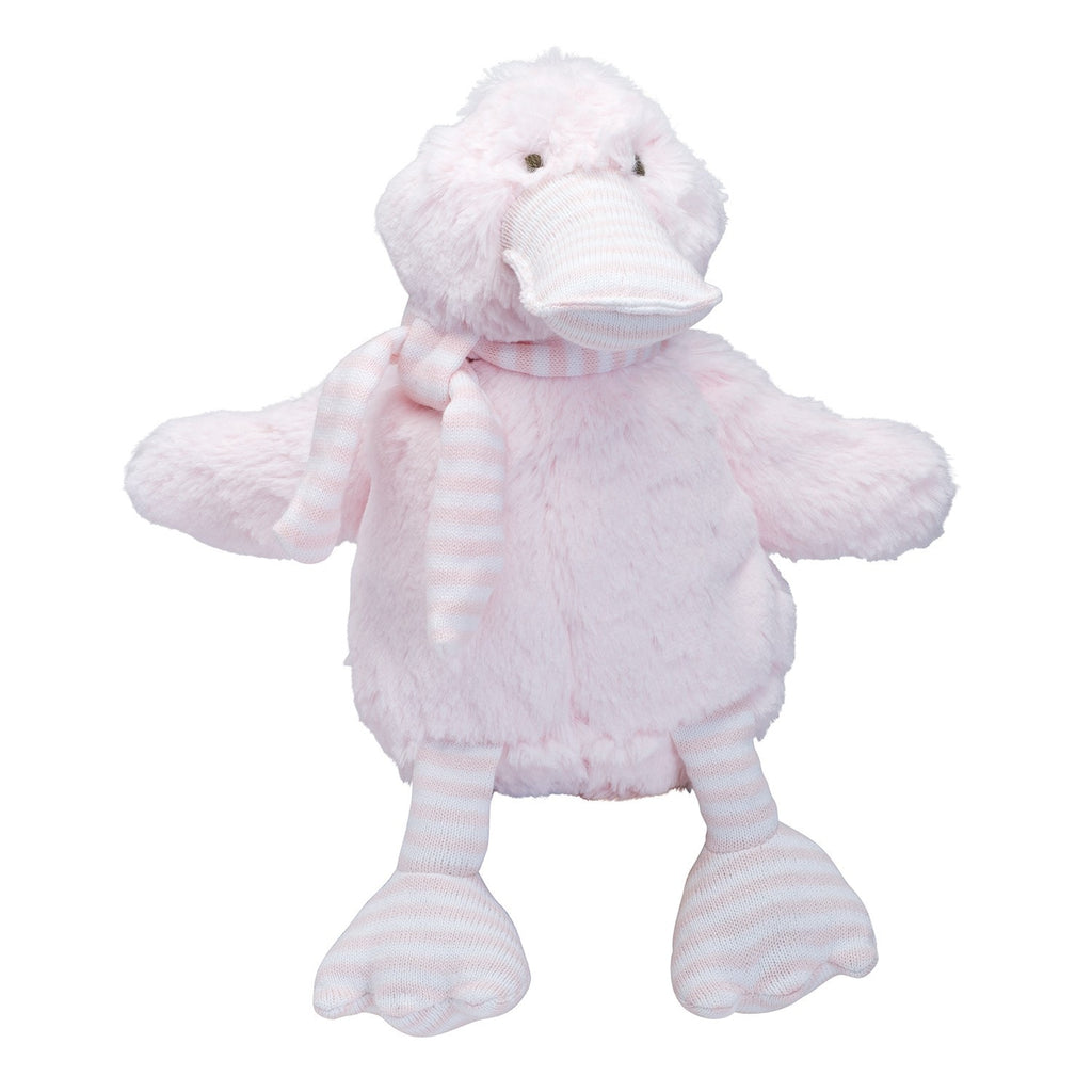 Plush Toy - Duckie in Pink - liz-and-roo-fine-baby-bedding.myshopify.com