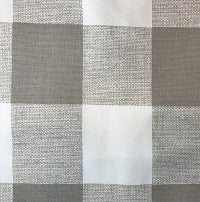 Buffalo Check (Taupe) Window Treatments