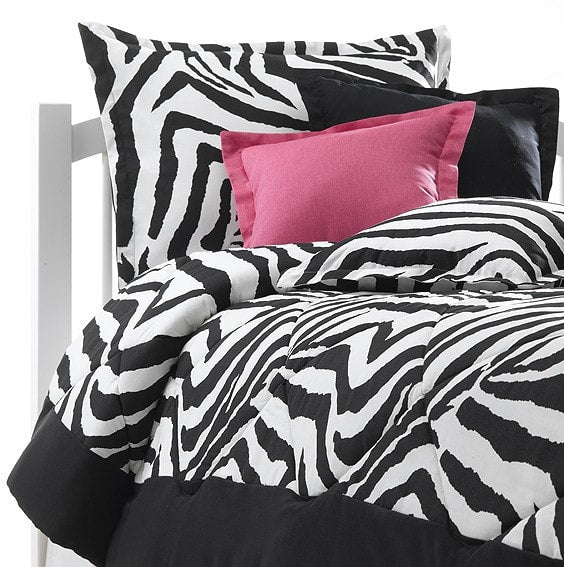 Black and White Zebra Twin Toddler Bedding - Closeout - liz-and-roo-fine-baby-bedding.myshopify.com