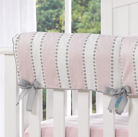 Bella Pink Rail Teething Cover by Liz and Roo