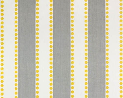 Poppy Collection - Gray Stripe Window Valance - liz-and-roo-fine-baby-bedding.myshopify.com