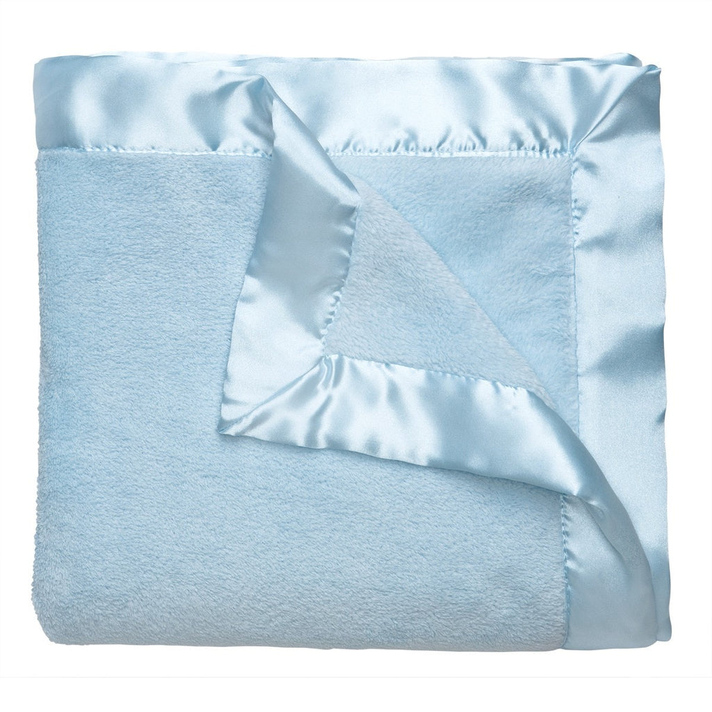Microfiber Blanket - Blue - liz-and-roo-fine-baby-bedding.myshopify.com - 1