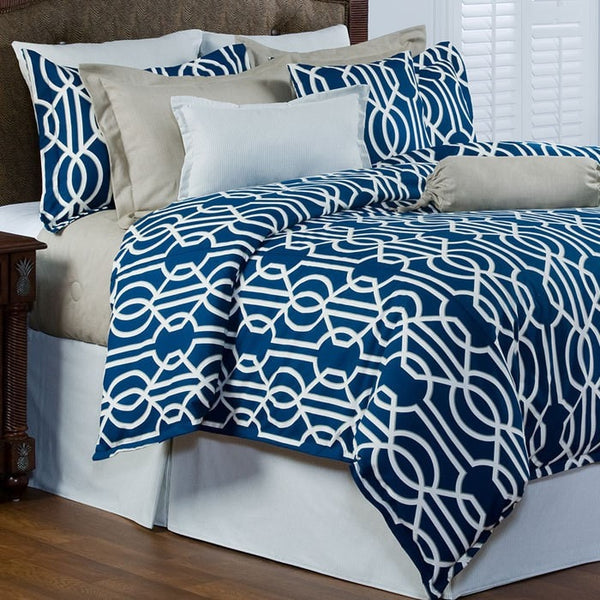 Cobalt Blue Bedding Set (Twin, Full, Queen) - liz-and-roo-fine-baby-bedding.myshopify.com