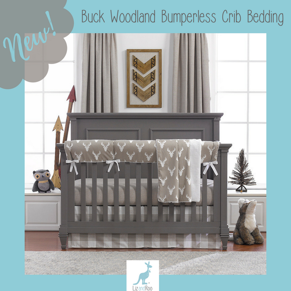 Buck Woodland Crib Bedding