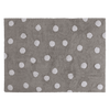 Lorena Canals Grey Polka Dot Rug