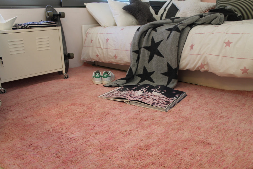 Lorena Canals Mix Flamingo Pink Small Rug