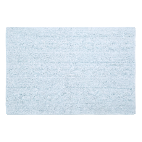 Lorena Canals Braids Soft Blue - Small Rug