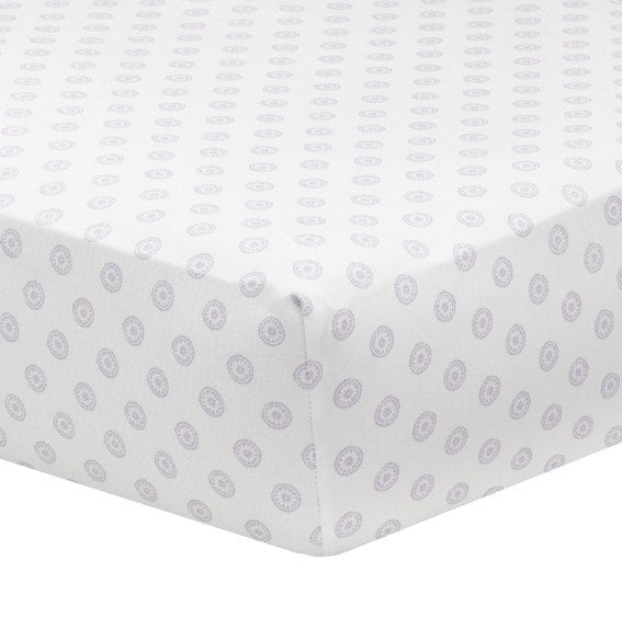Lavender Chelsea Crib Sheet - liz-and-roo-fine-baby-bedding.myshopify.com
