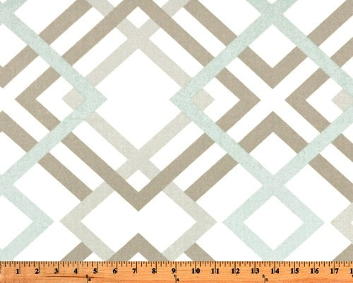 Easton (Gray, Taupe, and Seafoam) Window Treatments - liz-and-roo-fine-baby-bedding.myshopify.com - 1