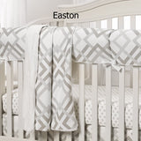 Mix and Match Neutral Crib Bedding - liz-and-roo-fine-baby-bedding.myshopify.com - 3