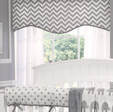Gray Chevron Window Treatments - liz-and-roo-fine-baby-bedding.myshopify.com - 1