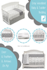Gray Woodland Crib Bedding Mix and Match