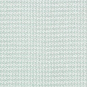 Seafoam Blue Houndstooth Fabric By The Yard - liz-and-roo-fine-baby-bedding.myshopify.com