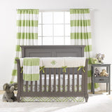 Kiwi Crib Bedding (Bumperless) - liz-and-roo-fine-baby-bedding.myshopify.com - 1