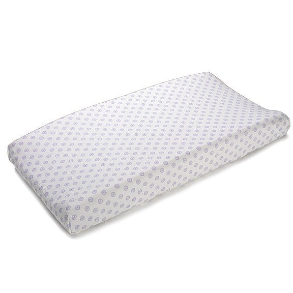 Lavender Chelsea Contoured Changing Pad Cover - liz-and-roo-fine-baby-bedding.myshopify.com