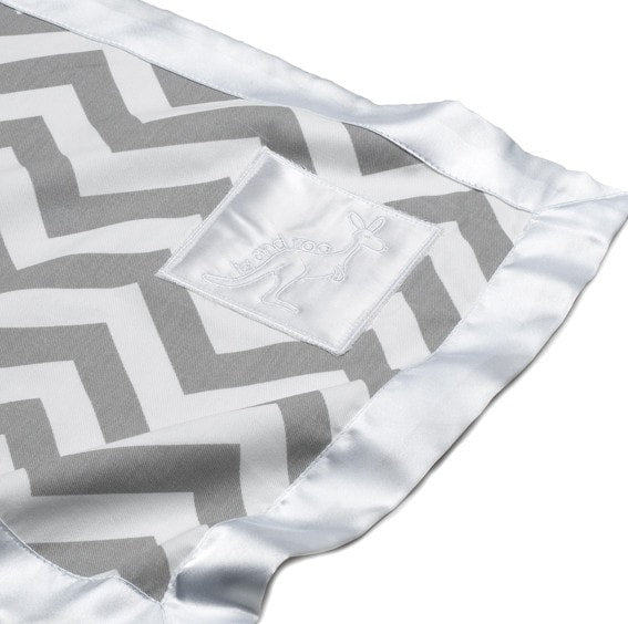 Little Roo Lovey - Gray Chevron - liz-and-roo-fine-baby-bedding.myshopify.com