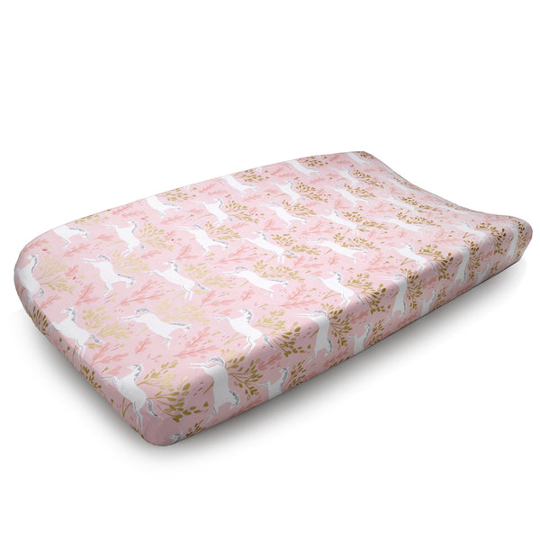 Magic Unicorn Contoured Changing Pad Cover