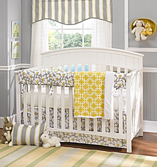 Poppy Rail Cover - Discontinued Size - liz-and-roo-fine-baby-bedding.myshopify.com