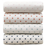 Mini Dots Crib Sheets