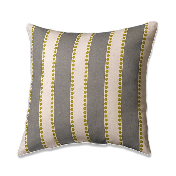 Gray/Natural Stripe Throw Pillows - liz-and-roo-fine-baby-bedding.myshopify.com