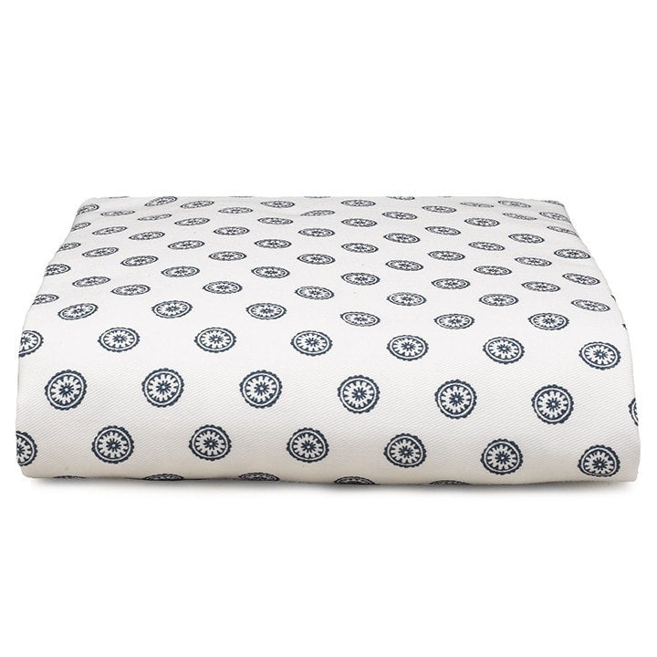 Navy Chelsea Crib Sheet